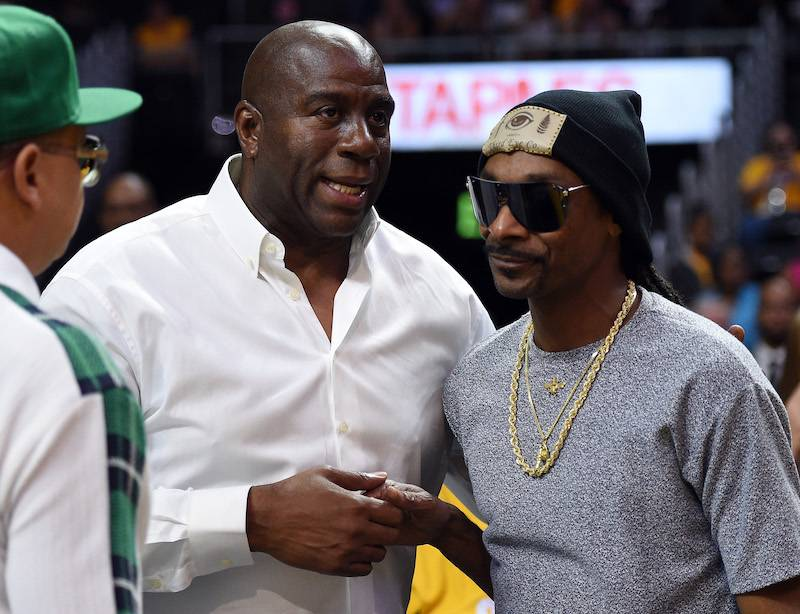 Magic Johnson Lists His 60 Favorite Hip Hop Artists