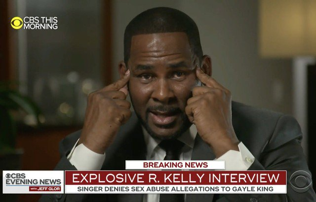 "Blame R. Kelly's ""Spirit"" For Disastrous CBS Interview"