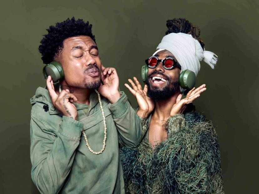 "EarthGang Becomes The Face Of Skullcandy's ""12 Moods"" Campaign For April"