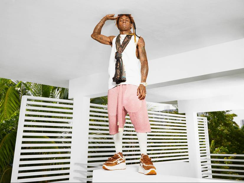 LIl Wayne Models Next UGG x BASIS Collaboration