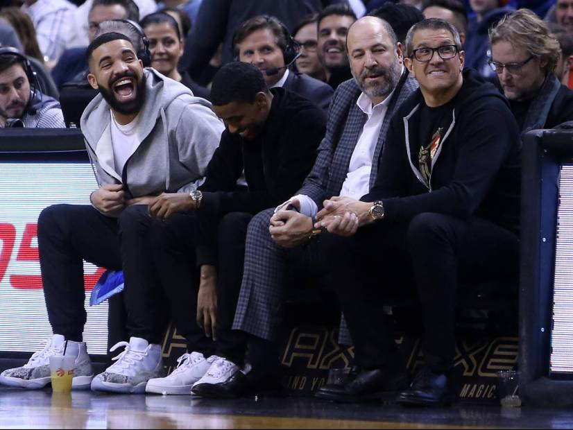 "Drake Jokes About His ""Curse"" Following Toronto Raptors In The Playoff Victory"