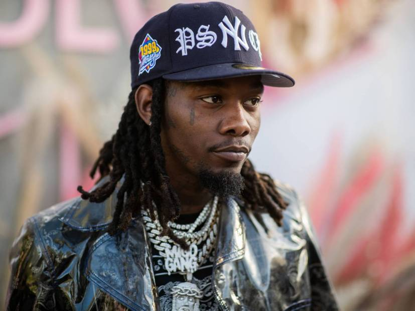 Offset & His Ferrari Superfast Avoid Speeding Ticket In L.A.