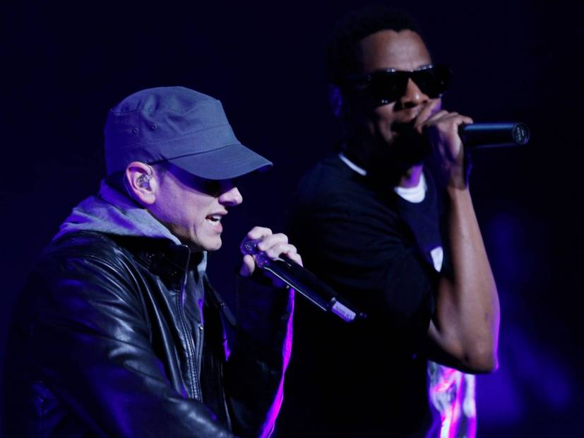 Eminem & JAY-Z Now Tied For Third Most Top 10 Hits In Billboard Hot 100 History