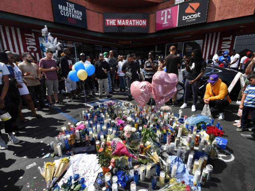 Nipsey Hussle Memorial Shutting Down Over Bootleggers & Merchants