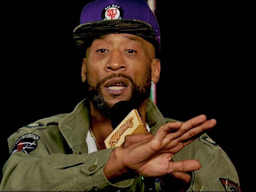 "Lord Jamar Shouts of ""Fuck Eminem, He is Crazy"" During Non-VladTV Interview"
