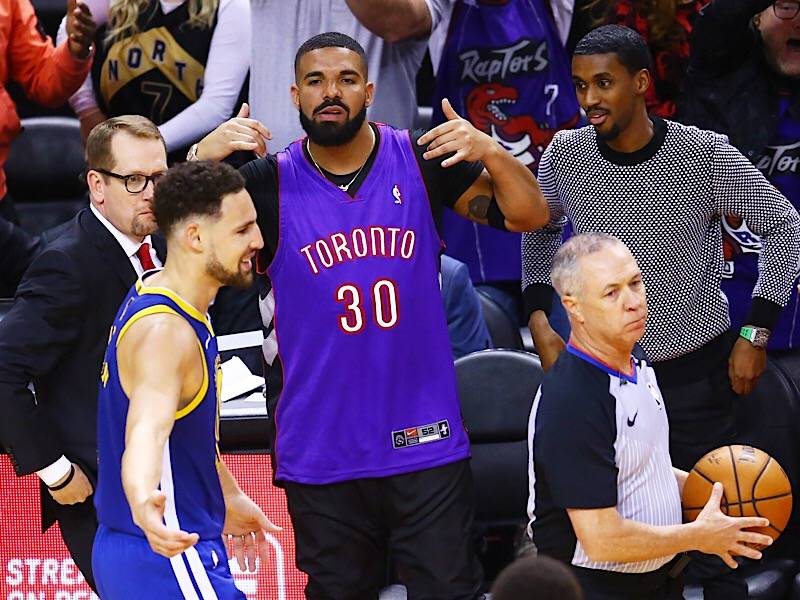 Troll God: All Of Drake's 2019 NBA Finals Game 1 Antics