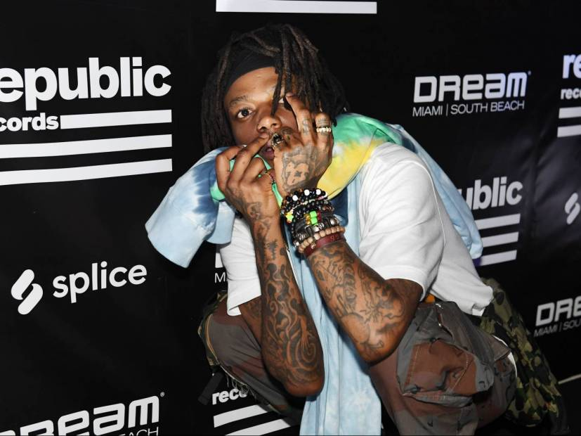 J.I.D, Kash Doll & Trippie Redd Turnt Up At Republic Records 2019 Rolling Loud Event
