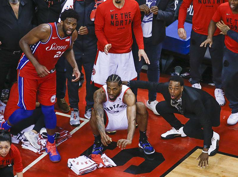 This Kawhi Leonard Photo Can Inspire you to Drake, the Next Freestyle