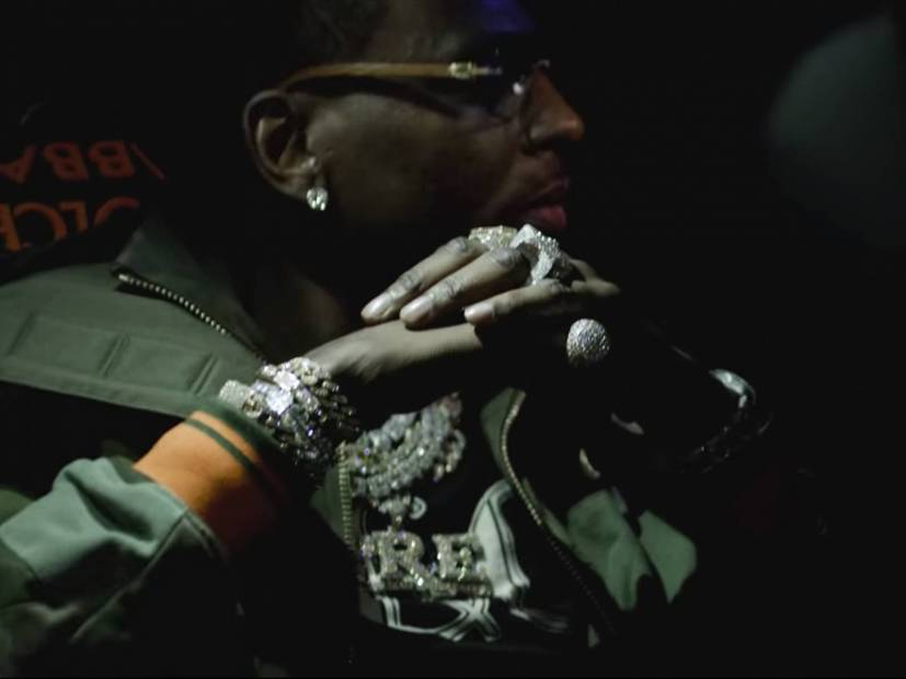 """Young Dolph Makes A 2019 Debut With """"Crashin'"""" Video"""