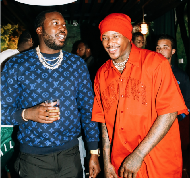 "YG Celebrates The Release Of ""4 Real 4 Real"" With Meek Mill, Karen Civil, Angela Yee & More"