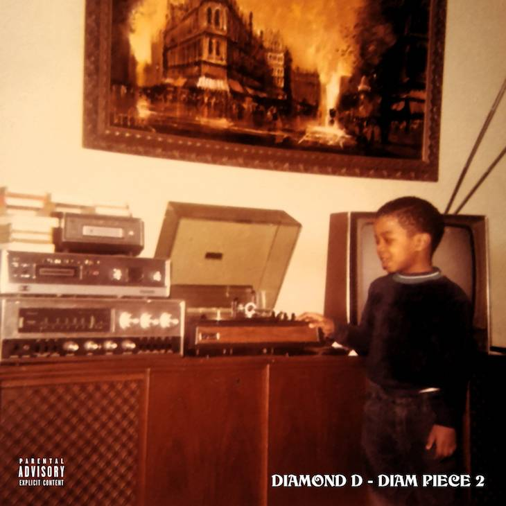"Review: Diamond D's ""The Diam Piece 2"" Solidifies His Dual Threat Rep"