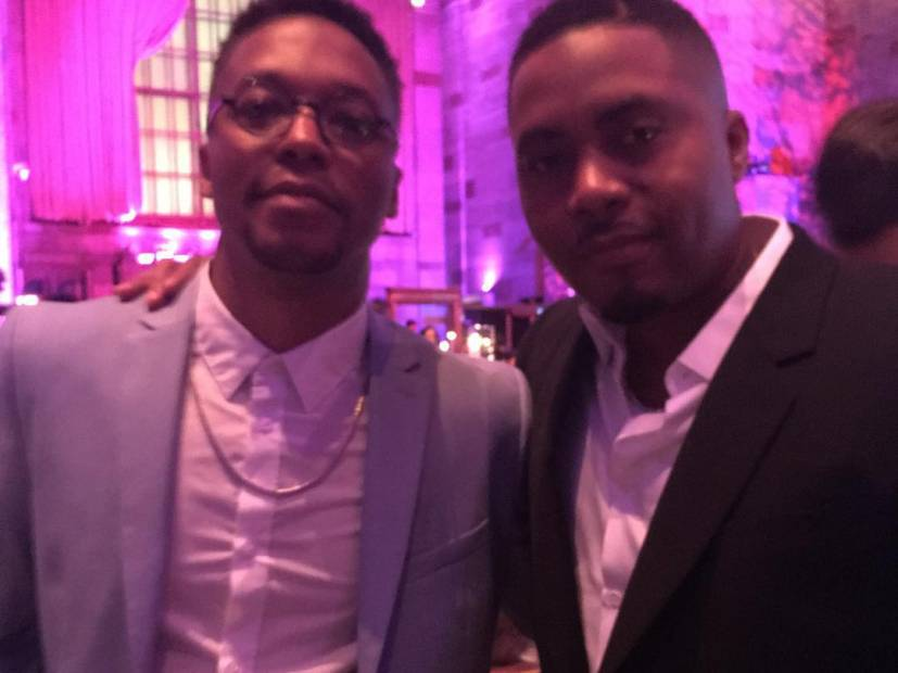 Nas & Lupe Fiasco Post Up In The Studio