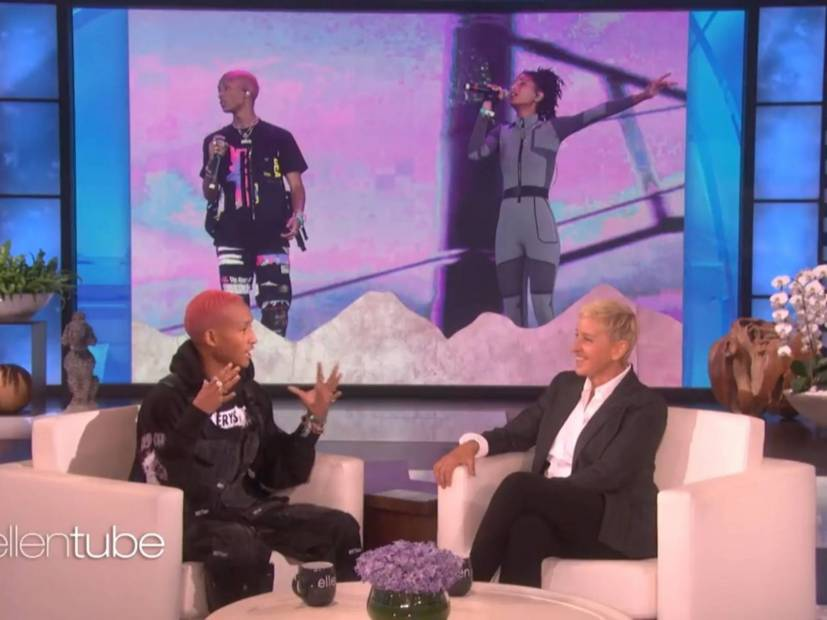 Jaden Smith Donates Flint Water Filtration System In the Name of Ellen