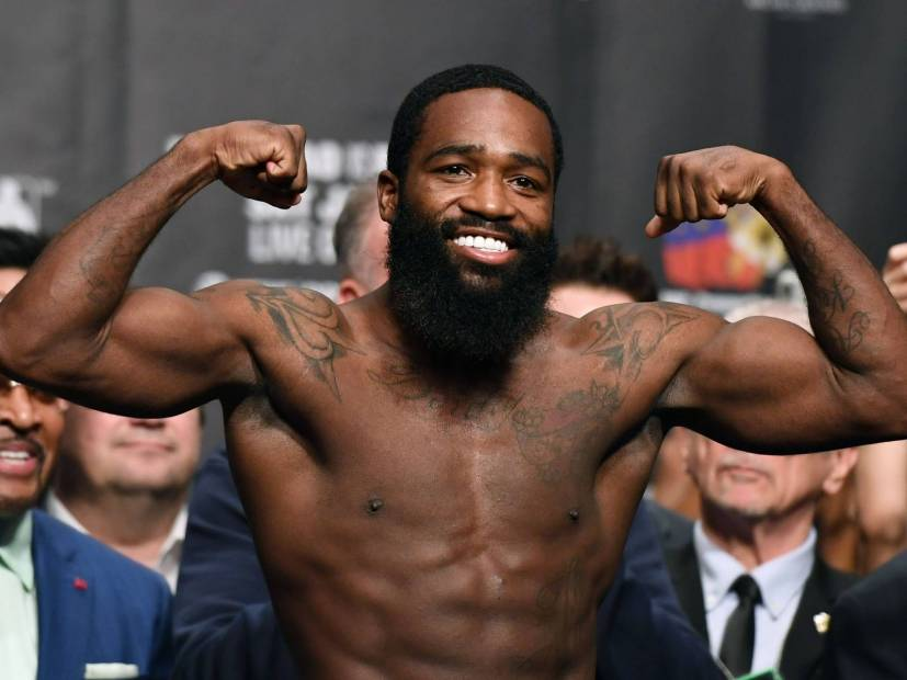 Adrien Broner Ready To Fight 50 Cent On The Alleged Debt