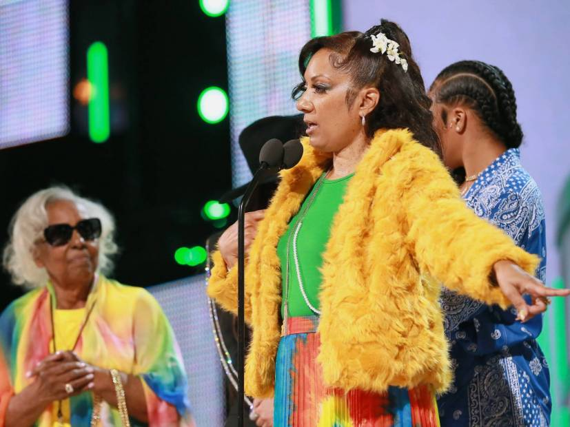 Nipsey Hussle's Mother Gives Colorful Speech During 2019 BET