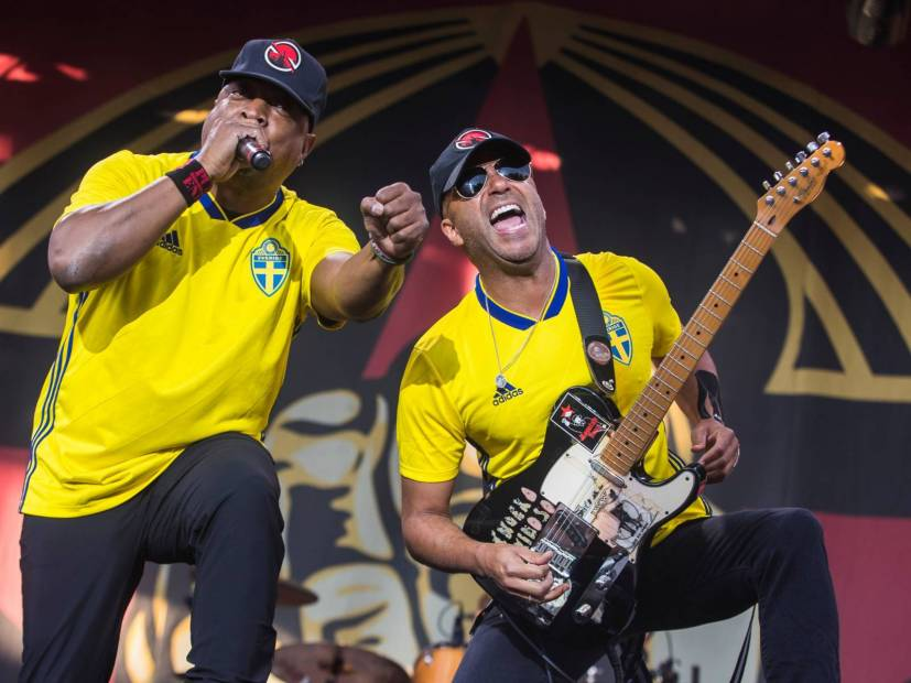 "Prophets Of Rage Tackles Fascism With ""Made With Hate"" Single"