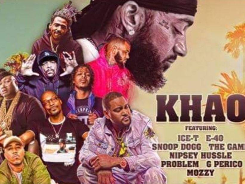 """Nipsey Hussle, The Game, Snoop Dogg, Mozzy, G Perico, Problem, E-40 & Ice-T dropping Bars On Khao of the """"Unified"""" Only"""