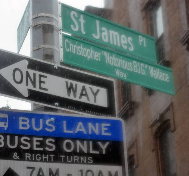 The Notorious B.I.G. Honored With A Brooklyn Street Naming Ceremony