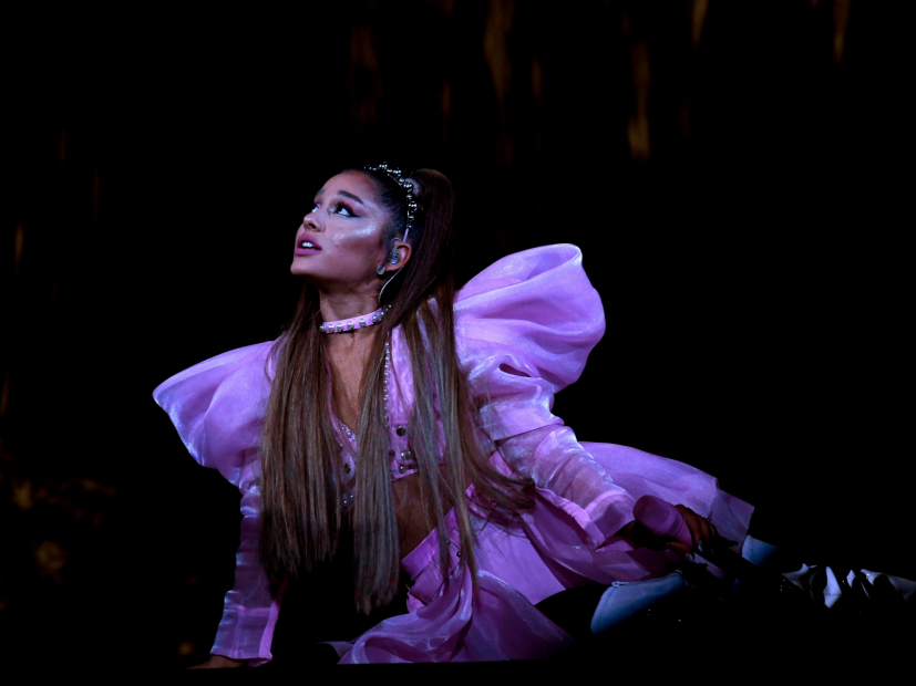Ariana Grande Chokes Up During Mac Miller Lyric In Pittsburgh