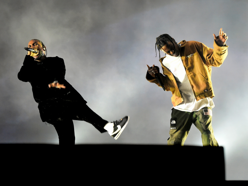 Kendrick Lamar, J. Cole & Travis Scott Title Of Crazy Day N Vegas Fest Line