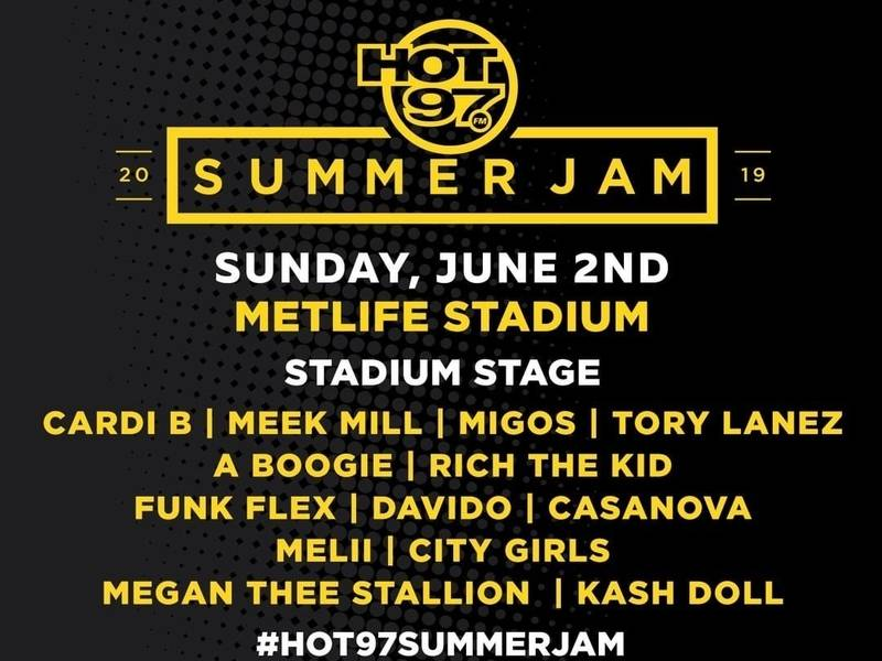 Flow of Hot 97's 2019 Summer Jam