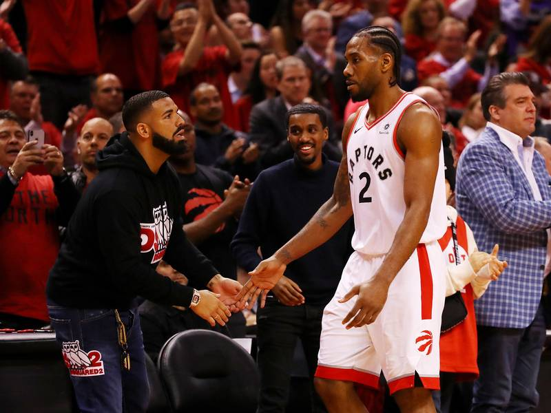 Drake Is Reportedly Recruiting Kawhi Leonard To Re-Sign With Toronto Raptors