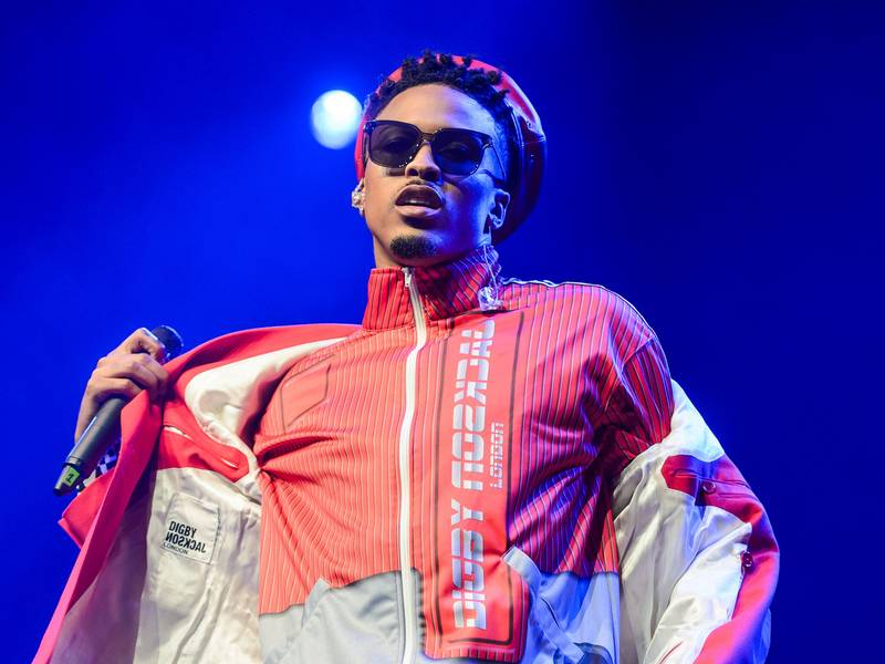 August Alsina Was Hospitalized After Losing The Ability To Walk & Suffer From Nerve Damage