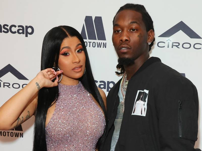 Cardi B & Offset Reportedly Drop $400K On Kulture's 1st