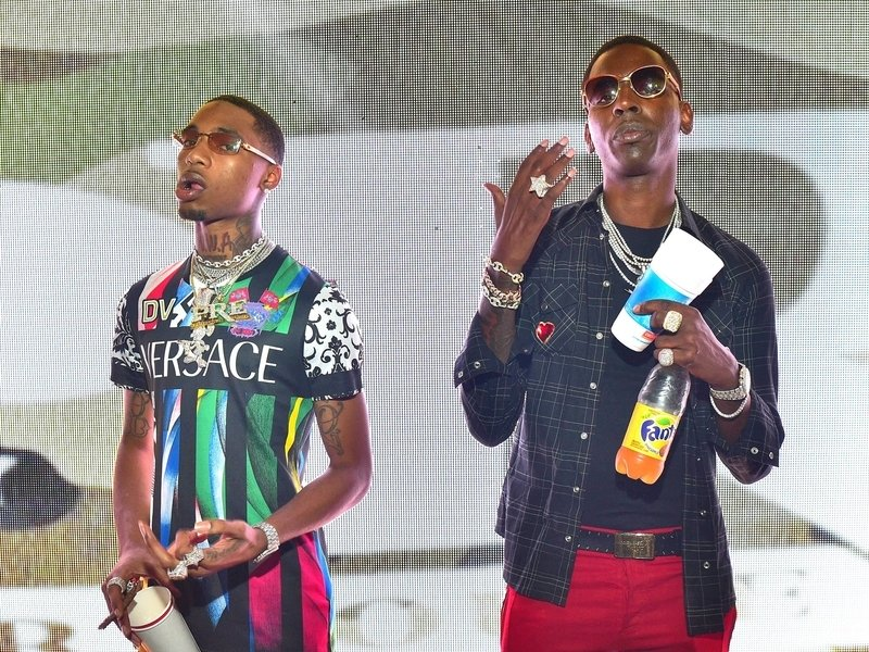 Key Glock Destroys Young Dolph's Windshields With A Baseball Bat