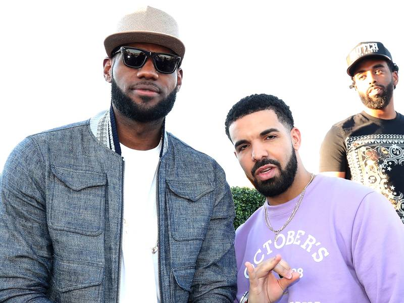 Drake & LeBron James Partner For Digital Platform Uninterrupted Canada