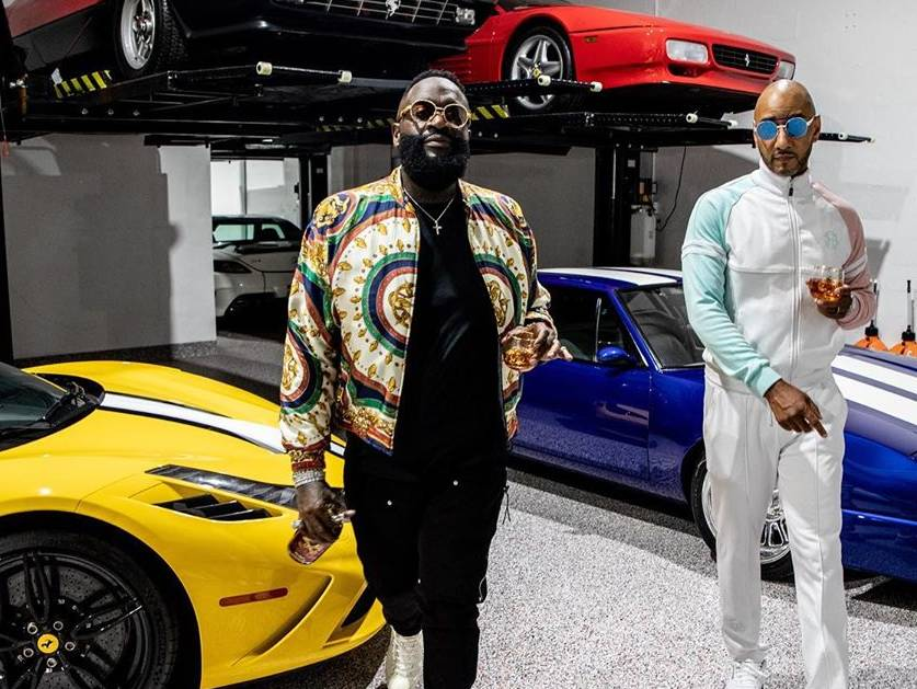 "Rick Ross, Swizz Beatz & Jordyn Woods to Test Aston Martins, In the ""BIG TIME"" Video"