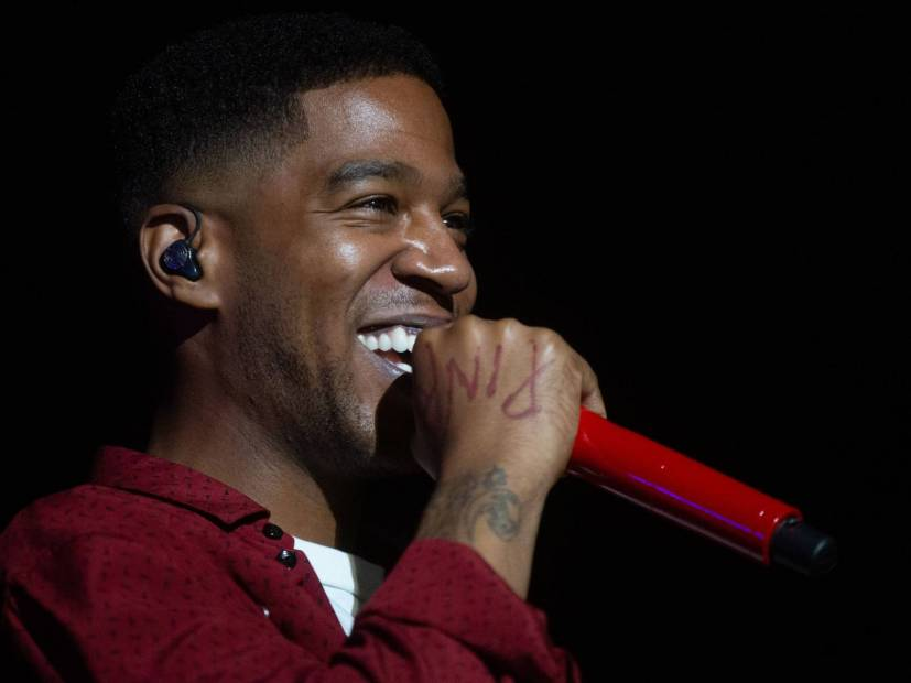 "Kid Cudi Debuts Unreleased Steve Aoki Remix Of ""Erase Me"" At HARD Summer Festival"
