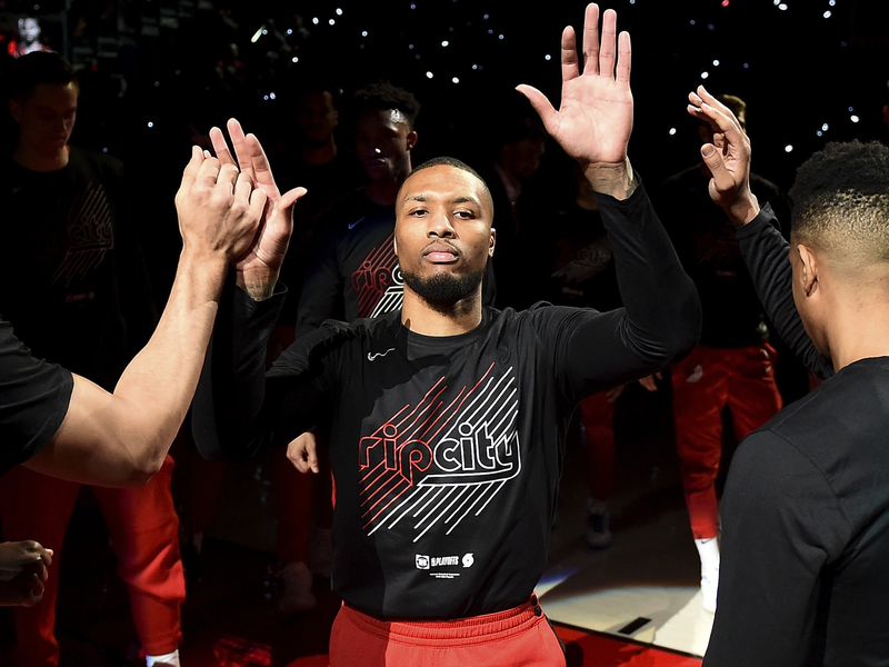 Damian Lillard a.k.a. Dame D.O.L.L.A. Covers 'NBA 2K21' Video Game