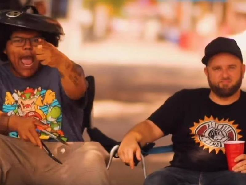 "#DXCLUSIVE: The Good People that count-F-R-O & Termanology For the ""Sidewalk of the Bbq"" Video"