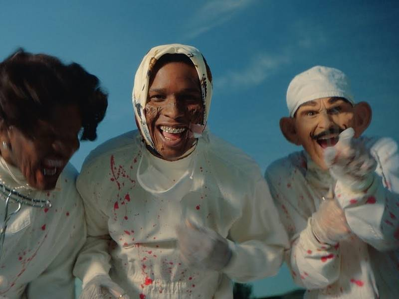 A$AP Rocky Stages Robbery In