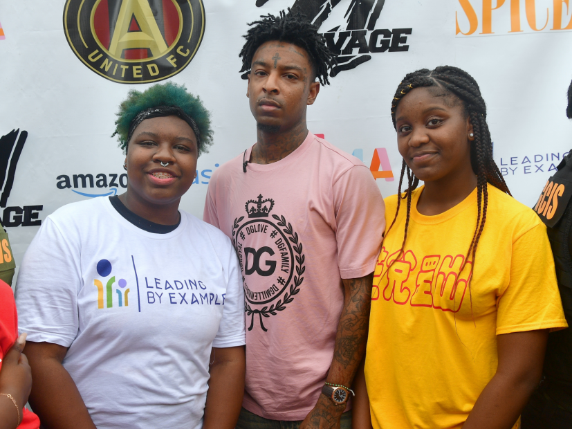 """21 Savage Holds 4th Annual """"Issa Back 2 School Drive"""""""