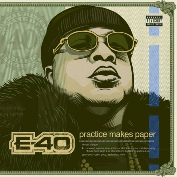 "Review: E-40 ""Practice Makes Paper"" Is A Long But Fruitful Listen"