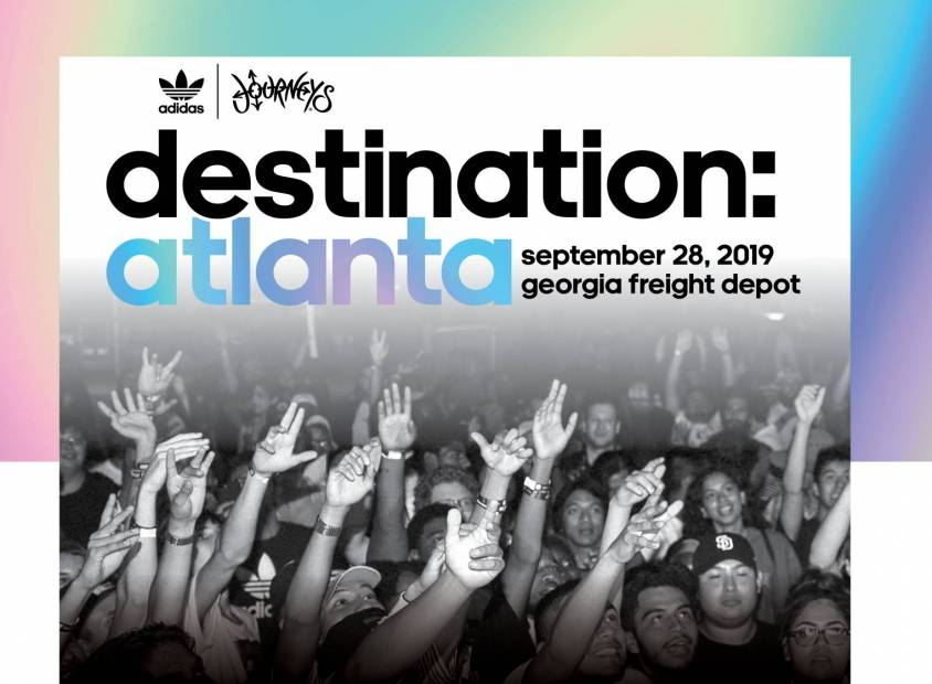 Journeys & adidas Originals Announce Destination: Atlanta One-Day Festival