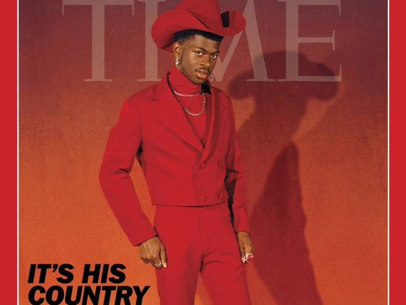 "Lil Nas X Covers ""TIME"" Magazine"