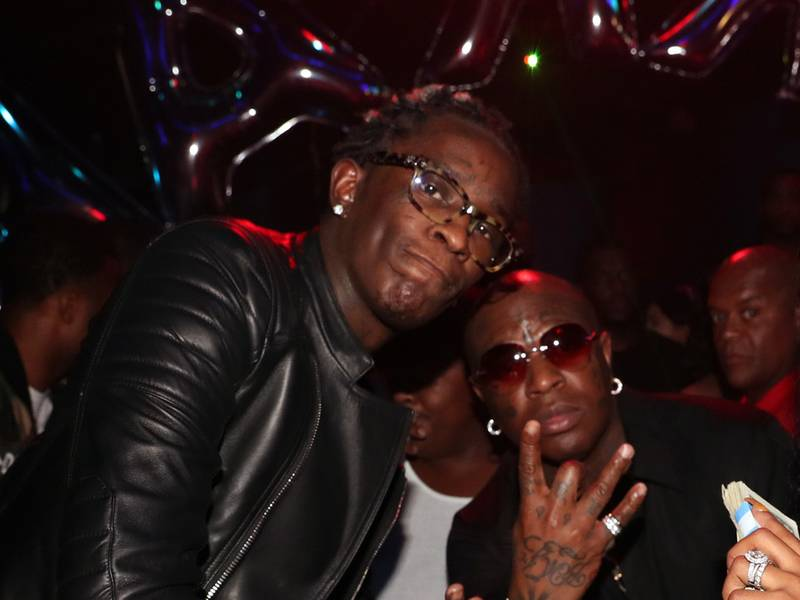 "Birdman Teases ""Rich Gang 2"" With Young Thug & Jacquees"