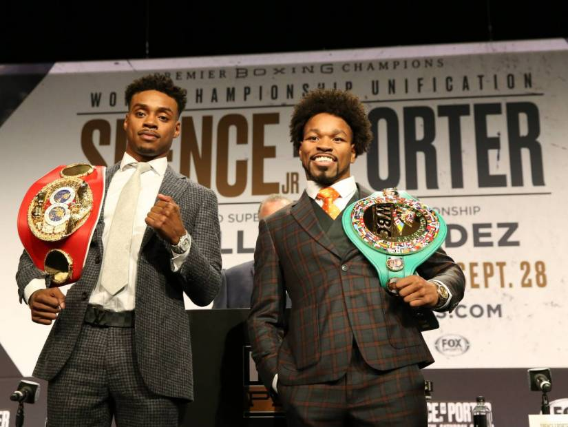 Errol Spence Jr. Vs. Shawn Porter Will Mark Rare Occasion For African-American Boxers