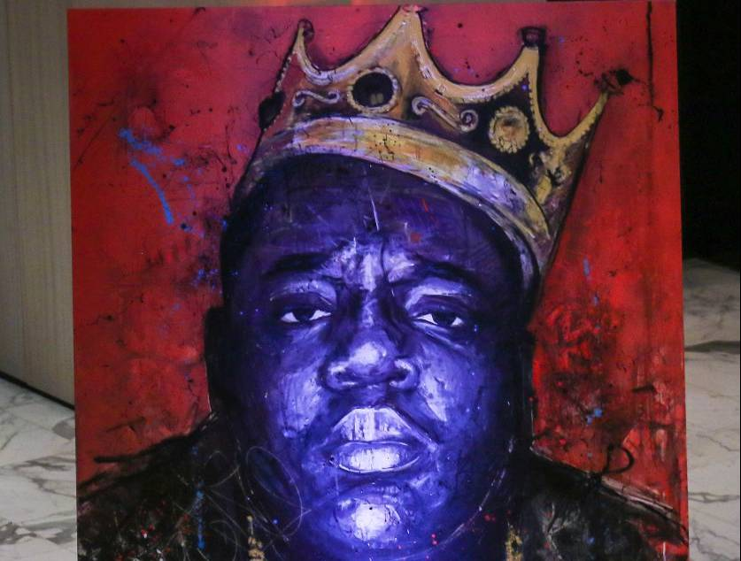 "Biggie's Debut Album ""ready To Die"" Commemorated With a Mini-Docs, and works of Art"