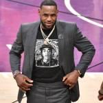LeBron James Honors Nipsey Hussle With Custom Jersey