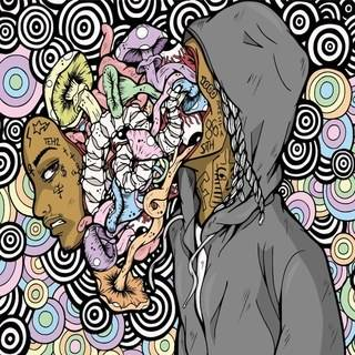 """Review: Nef The Pharaoh Trips Into Outer Dimensions With """"Mushrooms & Coloring Books"""""""