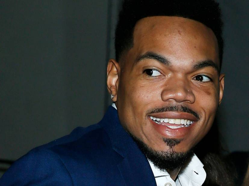 "Chance The Rapper Can't Stop Laughing During Jason Momoa's ""SNL"" Cameo"