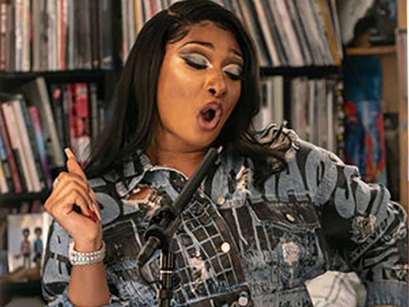 Megan Thee Stallion Brings The Fever To NPR's Tiny Desk Fest