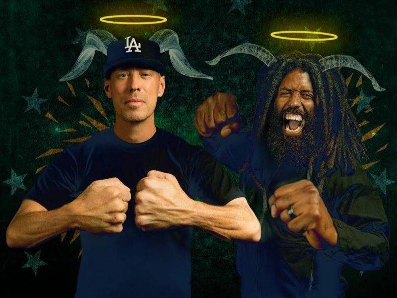 "The Grouch & Murs Deliver ""Thees Handz"" Album"