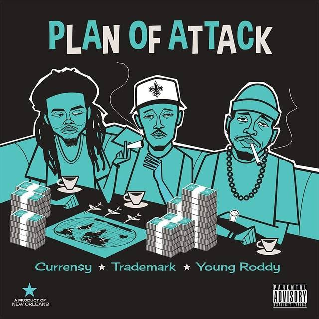 "Review: Curren$y, Trademark Da Skydiver, & Young Roddy Have A Solid ""Plan Of Attack"""