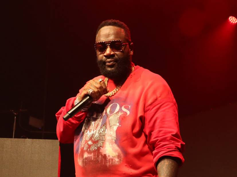 Rick Ross Praises Rival 50 Cent's Bars From 'Hate It Or Love It'