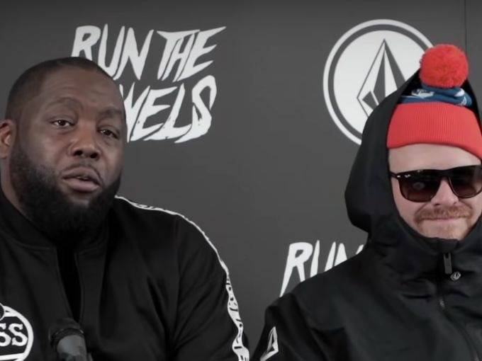 Run The Jewels And Shaq Team Volcom For The Wild-Snowboard Ad